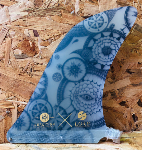 Koalition Single Fin Hatchet Lore 9.25""