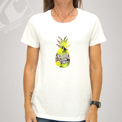 Reef Lds T-Shirt Style: Pineapple