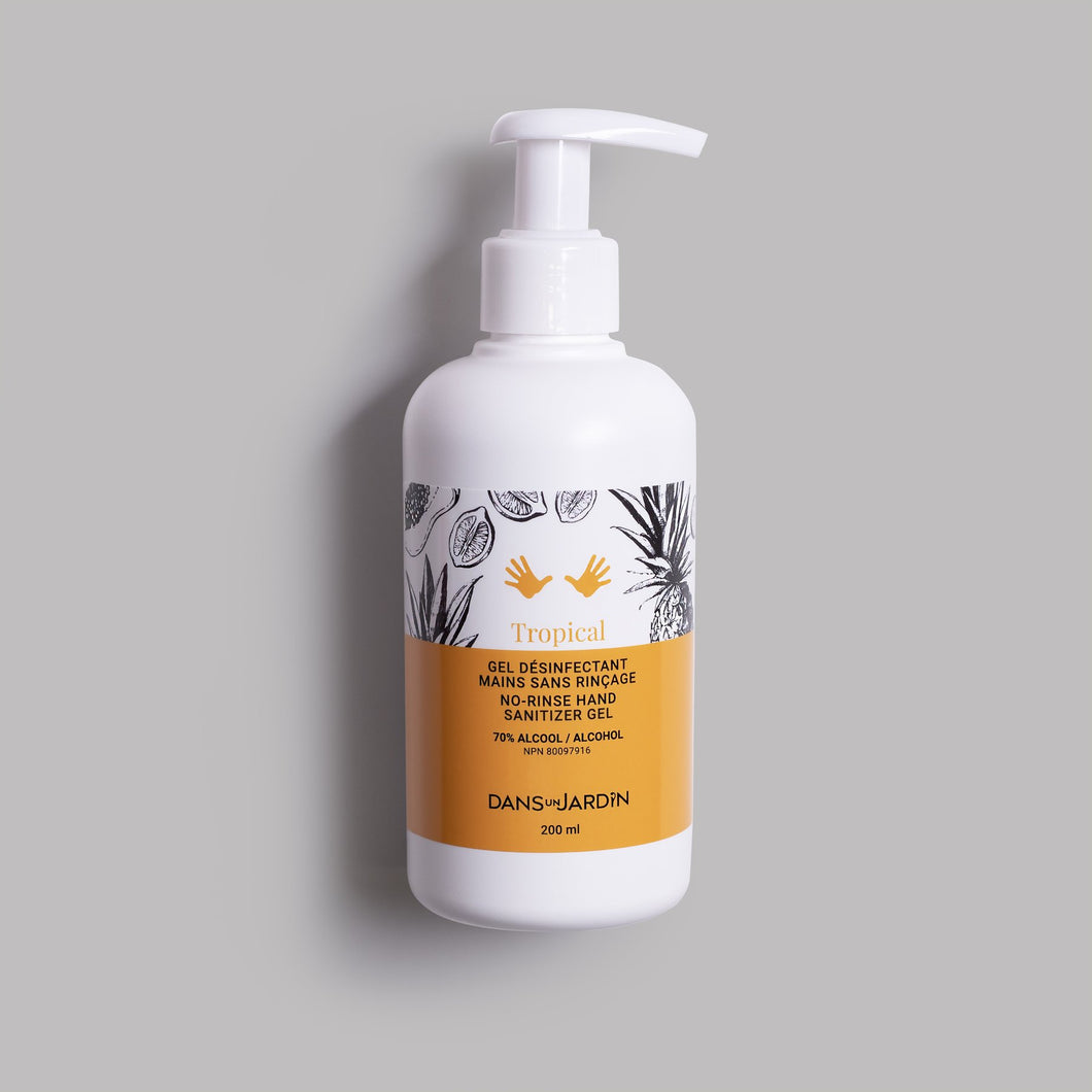 Gel Désinfectant 70% Tropical 200 ml