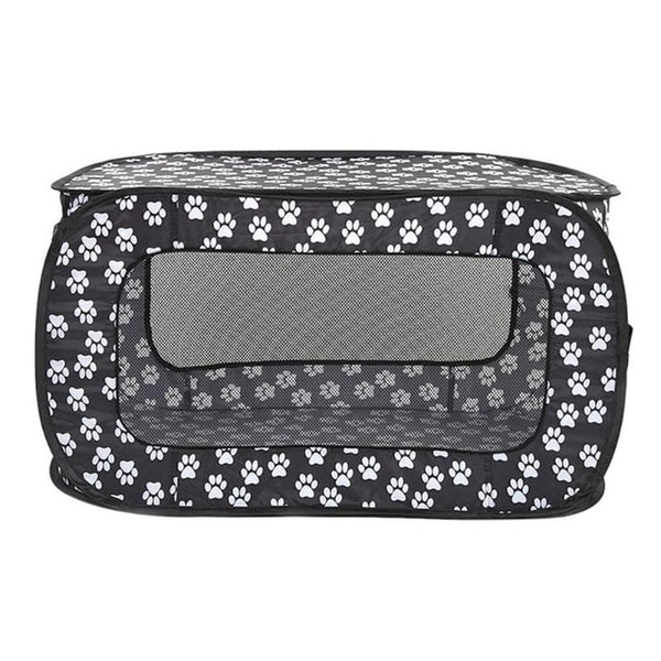 Portable Folding Rectangular Pet Cage