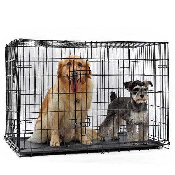Double Door Pet Cage