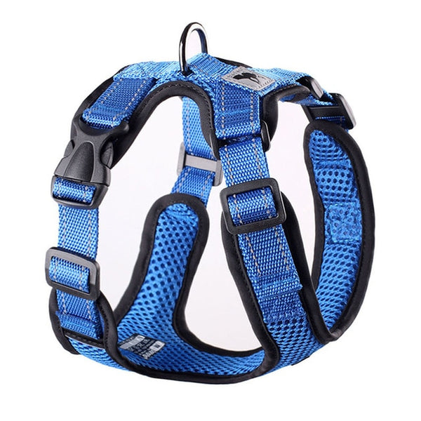 Adjustable Pet Training Mesh Harness