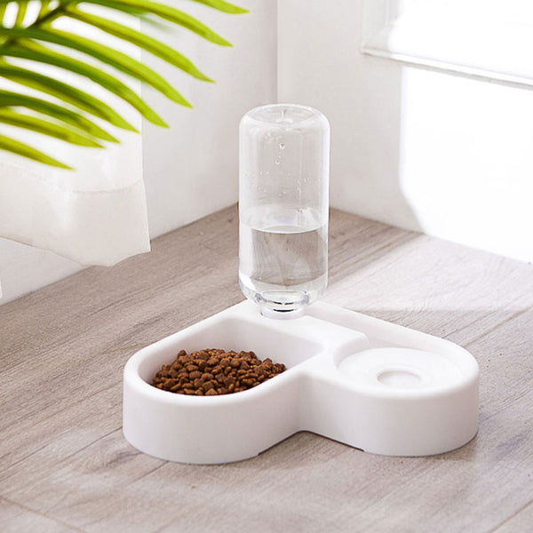 Pet Automatic Double Bowls