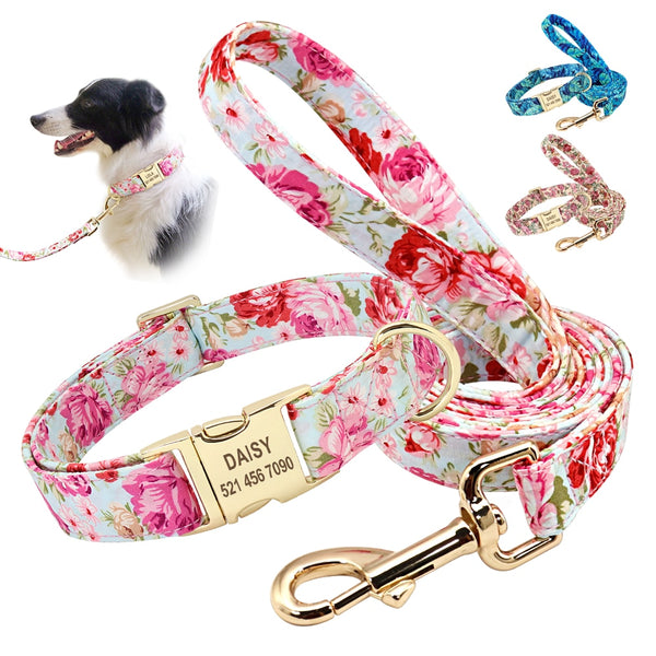 Pet Personalized Printed Collar