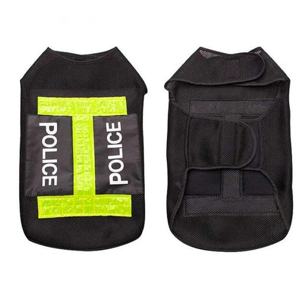Police Style Clothes Reflective Vest Coat