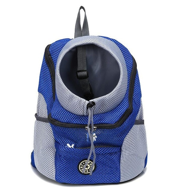 Grid Adjustable Hole Backpack