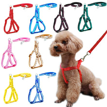 Load image into Gallery viewer, Dog Cat Leash Adjustable Harness