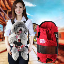 Load image into Gallery viewer, Adjustable Puppy Front Travel Carrier
