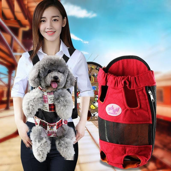 Adjustable Puppy Front Travel Carrier