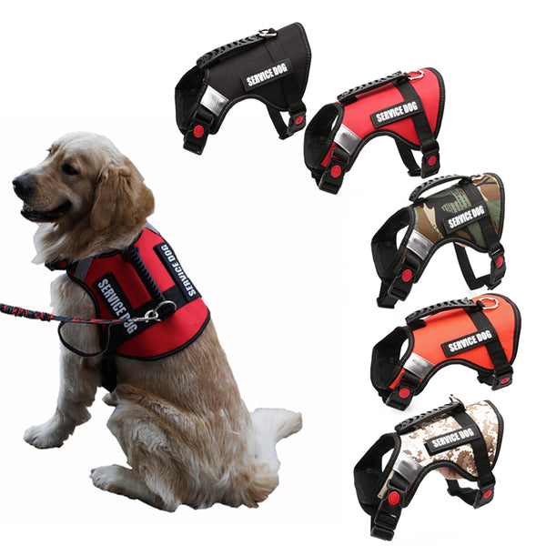 Reflective Anti Flushing Vest Leash Harness