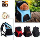 Portable Zipper Pet Mesh Backpack
