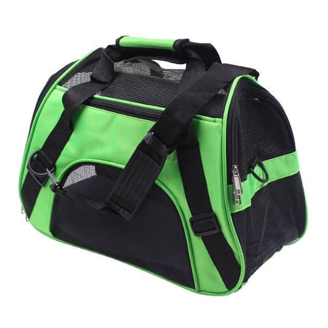 Pet Dog Backpack Mesh Carrier