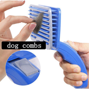 Pet Detachable Hair Remover Grooming Brush