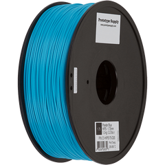 Prototype Supply 1.75mm HIPS Powder Blue 3D Printing Filament, 1kg (2.2 pounds)