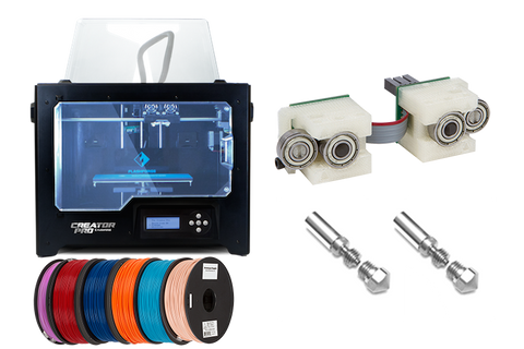 ToyBuilder Labs Enhanced Performance 3D Printer Bundle
