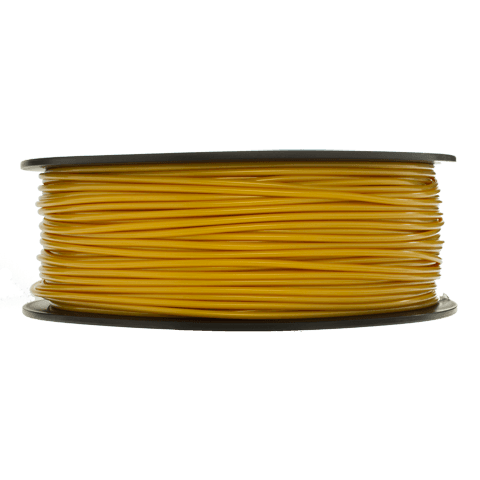 Prototype Supply 3.00mm PLA Gold 3D Printing Filament, 1kg (2.2 pounds)