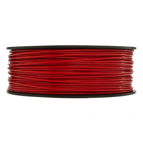 Prototype Supply 3.00mm ABS Red 3D Printing Filament, 1kg (2.2 pounds)