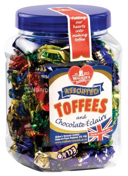 Walkers Assorted Toffees (Tub)