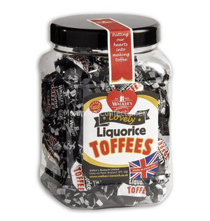 Walkers Liquorice Toffees (Tub)