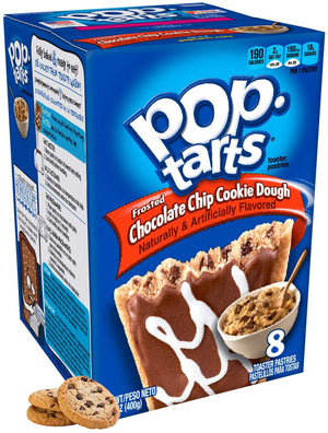 Pop Tarts Frosted Chocolate Chip Cookie Dough