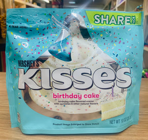 Hersheys birthday cake kisses