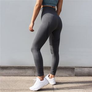 CQFitness Seamless Luxury Gym Leggings Grey