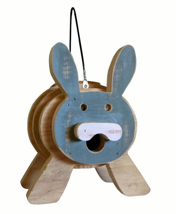 Bunny Stacks Birdhouse