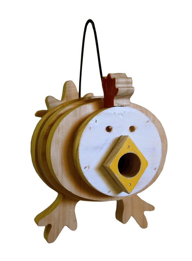 Chicken Stacks Birdhouse