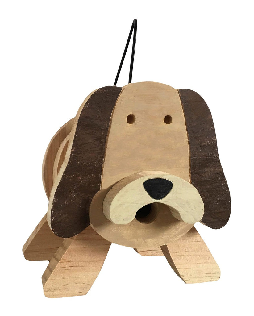 Dog Stacks Birdhouse