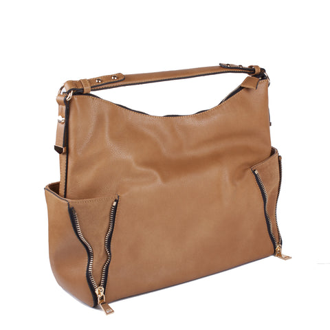 Moda Luxe 'Daytona' Leather Shoulder Bag