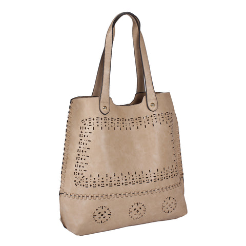 """JANETTE"" 2-IN-1 TOTE Handbag by lithyc - lithyc.com"