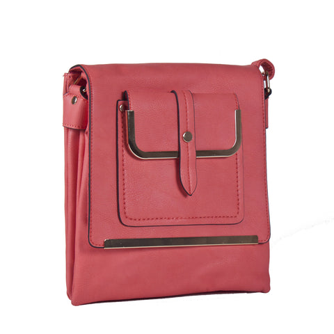 """MOLLY""  Snap Closure CROSSBODY by Lithyc"