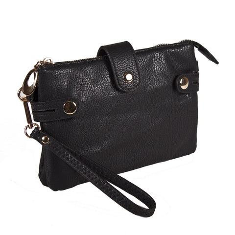 'MORGAN' Wristlet Crossbody Bag By Lithyc