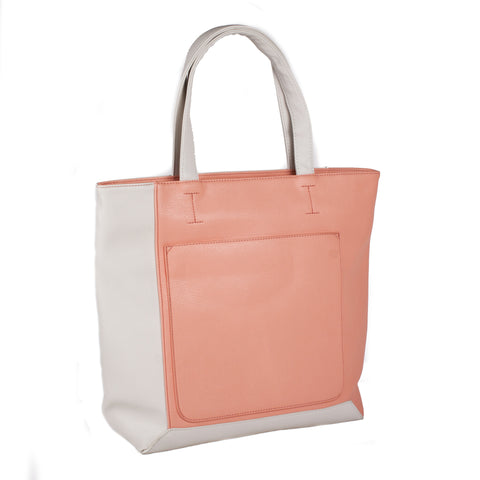 "Katie Q ""Valiant"" Color Block Tote"