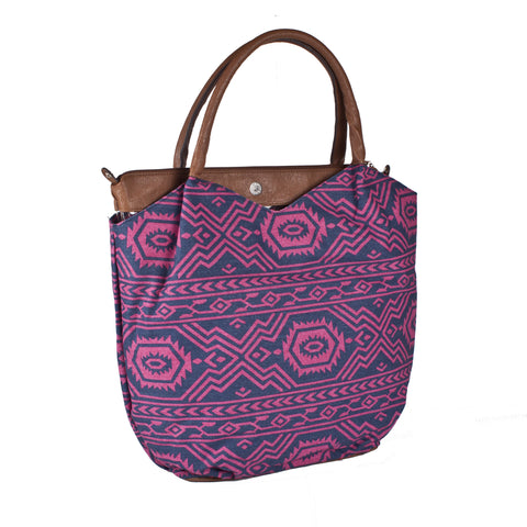 Bueno 2-in-1 'Lucy' Aztec Canvas Tote