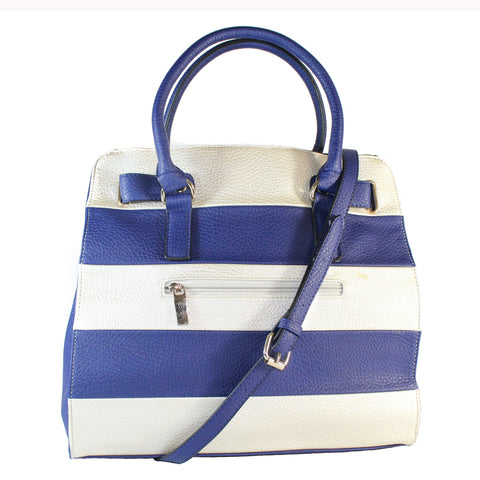 """PAIGE"" STRIPED LARGE TOTE by lithyc"
