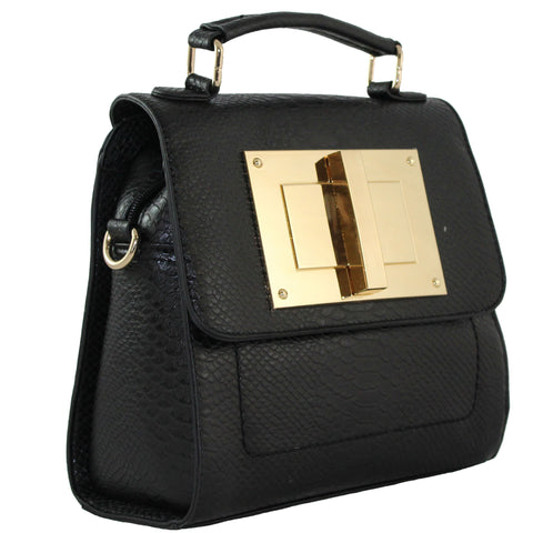 """NINA"" STRUCTURED CROSSBODY TOTE by lithyc - lithyc.com"