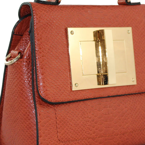 """NINA"" STRUCTURED CROSSBODY TOTE by lithyc"
