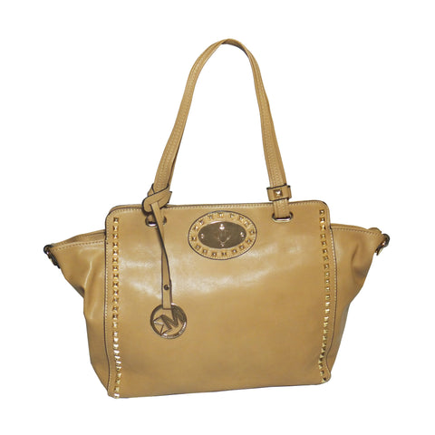 Michael Michelle 'Upton' Wide Studded Tote Bag For Women - lithyc.com