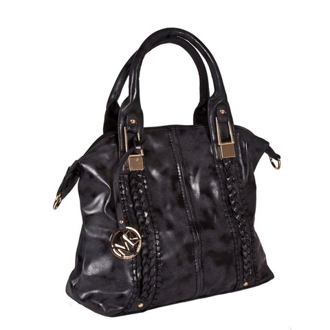 Michael Michelle 'Lola' Medium Vegan Leather Tote Handbag - lithyc.com