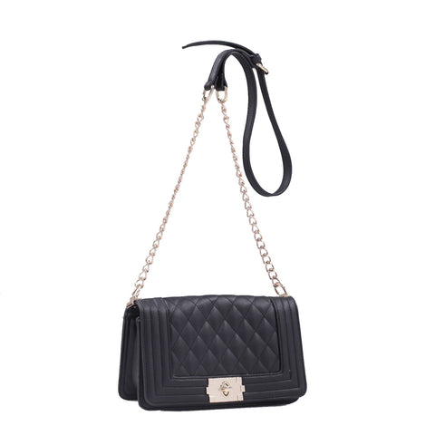 """MARILYN"" Quilted Crossbody Bag By Lithyc"
