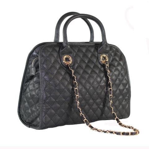 """RORY"" 2-in-1 QUILTED SATCHEL BAG By LITHYC - lithyc.com"