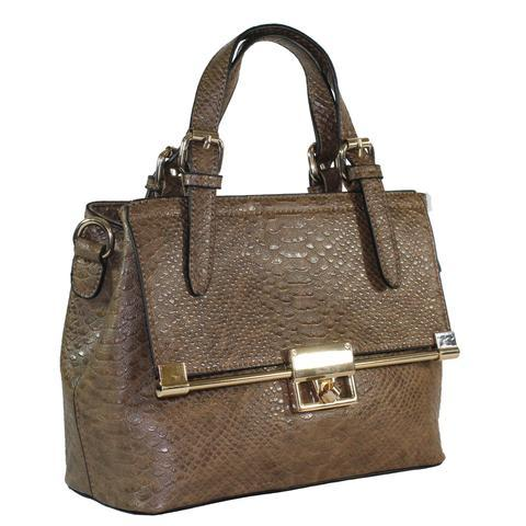 """LETIZIA""  Snakeskin MINI TOTE by Lithyc"
