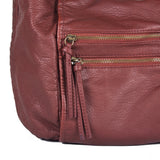 """Roxy"" Zippered Crossbody by Bueno"