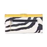 'Jolene' Zebra Striped Wallet by Lithyc