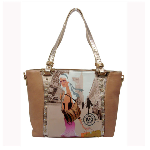 "Michael Michelle 'Angelica"" Tote Bag For Women"