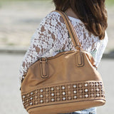 """KELCIE"" MEDIUM SATCHEL by lithyc"