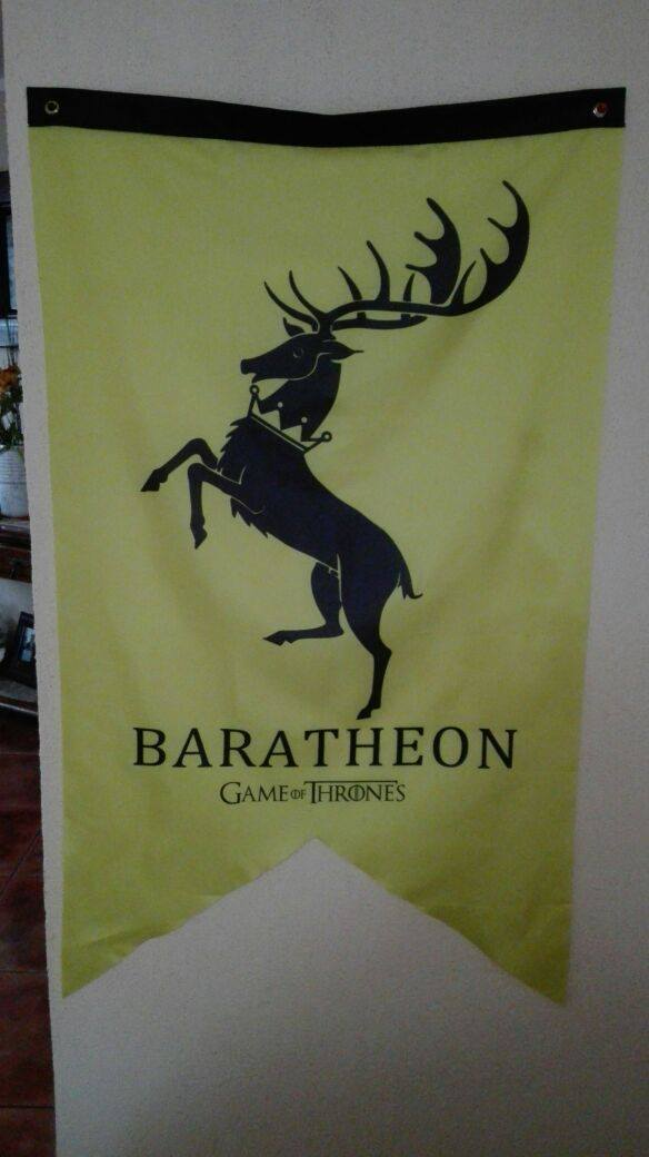 Estandarte Casa Baratheon
