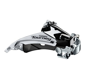 Voorderailleur Shimano Tourney FD-TY510 - 6/7V - Top Swing - Dual Pull - 66-69° - FABBO