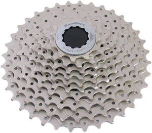 Cassette Sunrace CSMS1 met stalen spider 10-sp 11-36 Champagne - FABBO